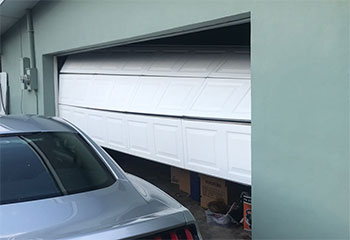 Garage Door Off Track Project | Garage Door Repair Las Vegas, NV